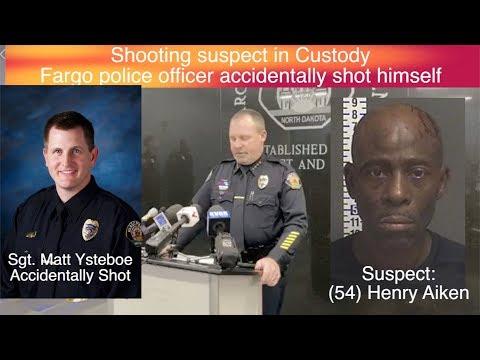 Fargo Police Officer Accidentally Shot, Shooting Suspect In Custody