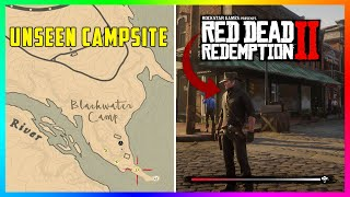 The Gang's UNSEEN Blackwater Camp Site Revealed In Red Dead Redemption 2! (RDR2 SECRETS)