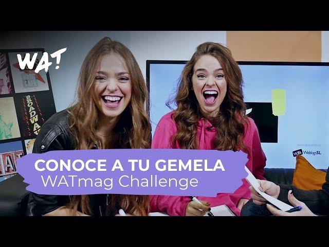 Conoce a tu gemela con Twin Melody | WATmag Challenge