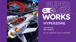 HyperZone retrospective: F-Zero times two is still zero | Super NES Works #009
