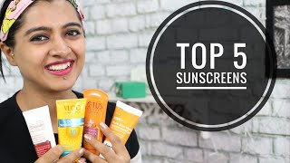 BEST Sunscreens of 2020  - Sweat Resistant || Best Sunscreen Oily, Dry, Sensitive Skin #NonSponsored