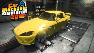 how to supercharge a car in car mechanic simulator 2018 - Kênh video
