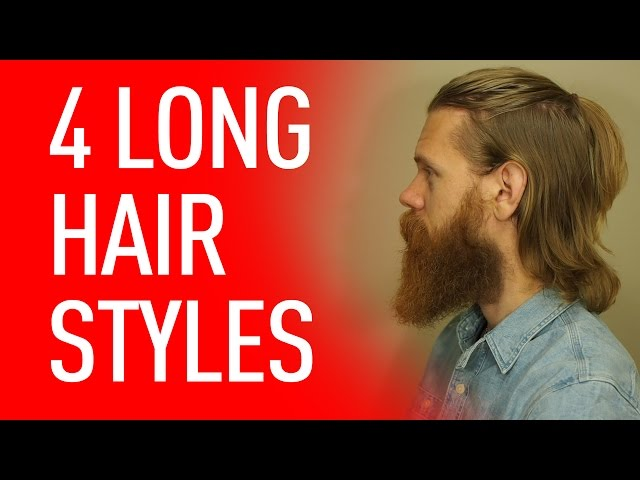 how to tie a long hair in different styles 4 ways to wear hair beardbrand 5019 | sddefault