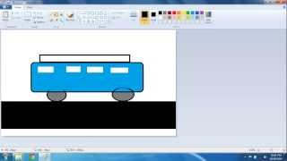 How To Draw School Bus In Ms Paint Free Online Videos Best Movies