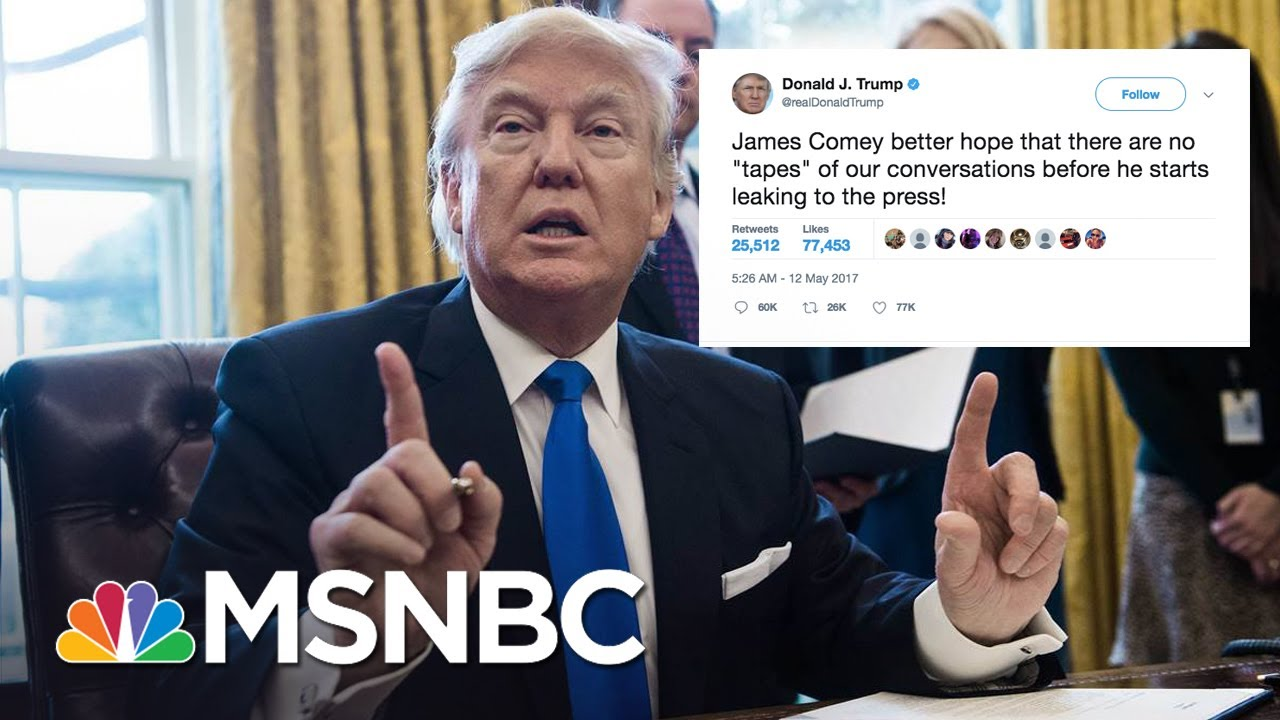 President Trump's 5 Most Self-Destructive Tweets | Morning Joe | MSNBC thumbnail