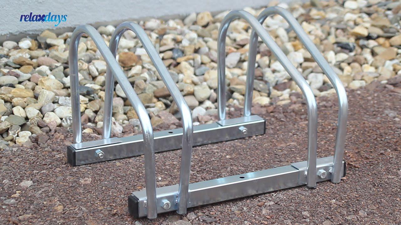 Video von: Fahrradständer 2x Boden & Wandmontage