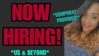 HOT JOB! $18 Hourly, US & Beyond, Equipment & Benefits Provided