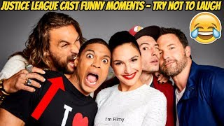 Download Youtube: Justice League Bloopers and Funny Moments (Part-2) - Gal Gadot and Ben Affleck 2017