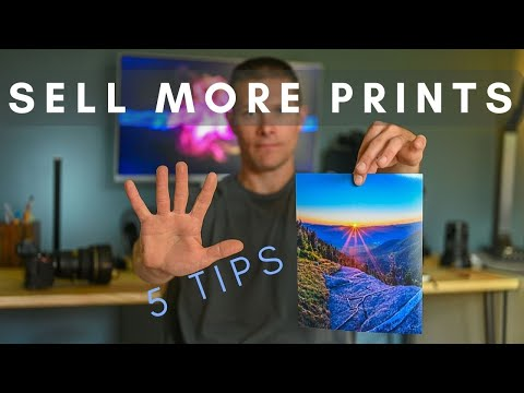 , title : 'Selling Prints - How to sell MORE prints - 5 TIPS in 5 MINUTES!