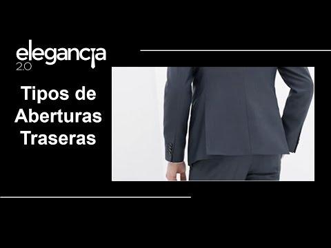 Tipos de Aberturas Traseras en Americanas, Sacos o Chaquetas - Bere Casillas (Elegancia 2.0)