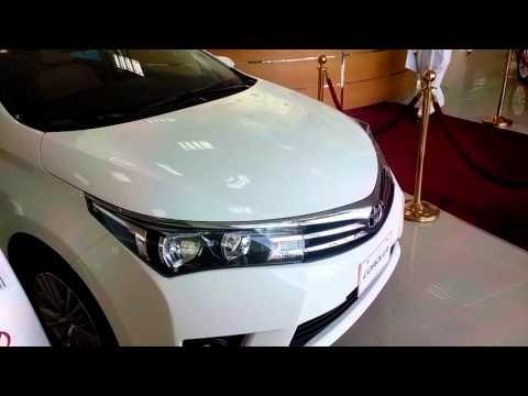 Launching of Toyota corolla 2015 in UAE