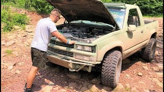 THE SAD ENDING TO THE $1500 ARMY BLAZER ROCK CRAWL... WE GAVE IT OUR ALL!!!