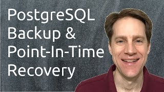 PostgreSQL Backup & Point-In-Time Recovery