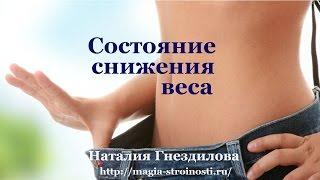 Психологически4ий настрой для похудения