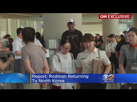 Dennis Rodman To Return To North Korea