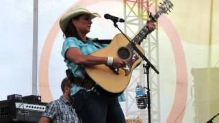 """Terri Clark """"I Just Wanna Be Mad"""" Live, CMAFest 2014"""