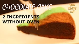 how to make cake without baking powder and oven