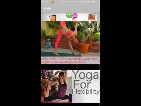 18+ yoga video tutorial