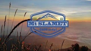 Pendakian Gunung Slamet 3428 mdpl