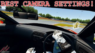 BEST First Person View (FPV) & CHASE CAM Settings in Assetto Corsa! *NECK FX & CHASE CAMERA SWIVEL*