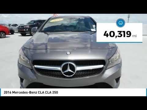 Pre-Owned 2016 Mercedes-Benz CLA CLA 250