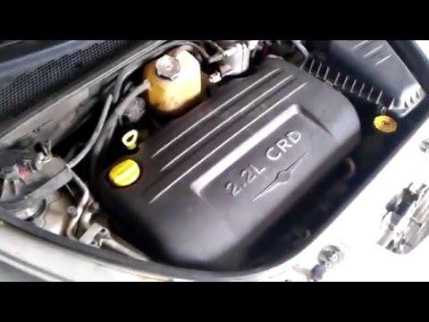Фото к видео: замена масла на дизельном Chrysler PT Cruiser 2.2 crd турбо