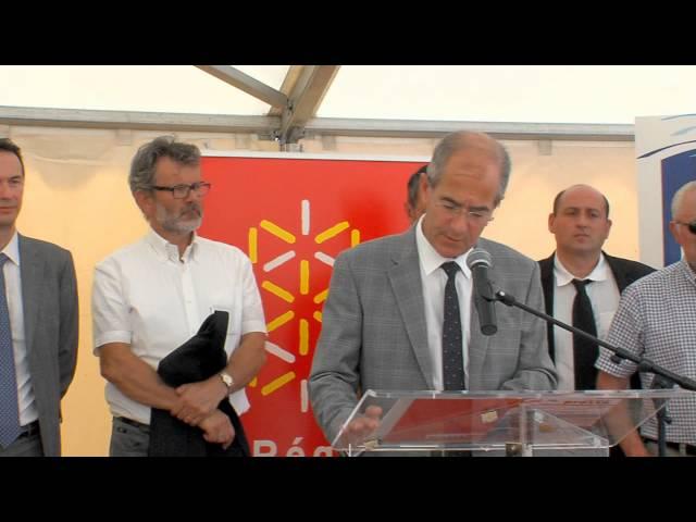 2014 : Aqua Domitia et les chantiers du Maillon Sud Montpellier