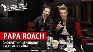 Papa Roach, Papa Roach оценивают русские клипы