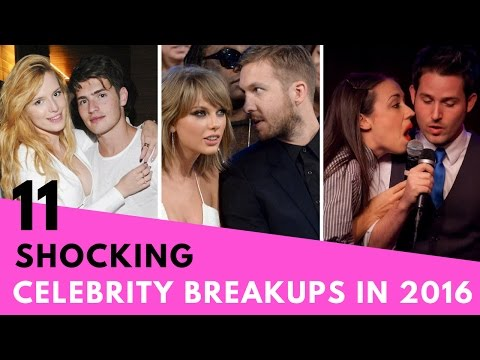 11 Most Shocking Celebrity Breakups! (2016)