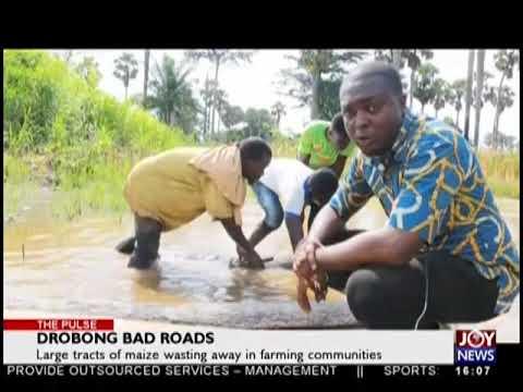 Drobong Bad Roads - The Pulse on JoyNews (30-8-18)