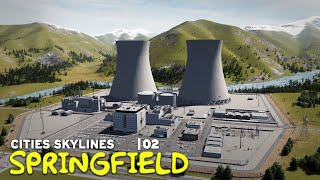 Nuclear Power Plant | Cities Skylines: Springfield 02
