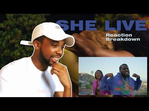 Maxo Kream - She Live ft. Megan Thee Stallion (Official Video) | Reaction