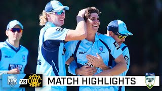 Edwards, bowlers guide NSW to another one-day title | Marsh One-Day Cup 2020-21