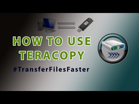 TeraCopy tutorial
