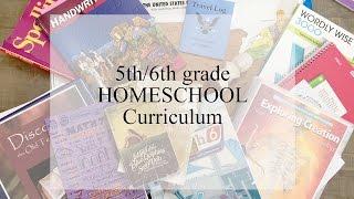 5th/6th Grade Homeschool Curriculum