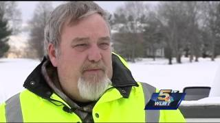 Maysville digs out after snow blankets small river town