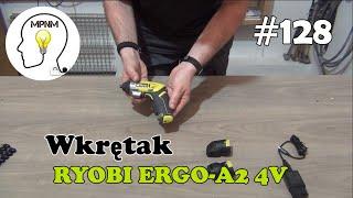 #128 - Wkrętak akumulatorowy RYOBI ERGO-A2 4V