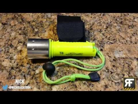 Cheap and Very Bright Waterproof LED Torch!!