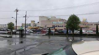 話題の変態セブンセブンイレブン足利芳町店まで雨の中ドライブします