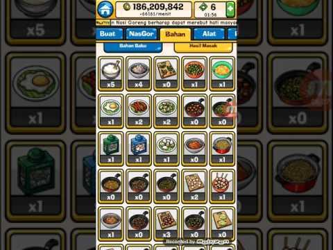 Video 27 resep nasi goreng dan cara membuat tumisannya di game nasi goreng