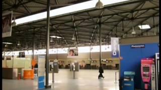 Aéroport Roissy Charles de Gaulle , visite des terminaux 2 et 3 en 2010