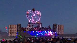 From Darkness Into Sunrise With Robot Heart @ Burning Man 2018