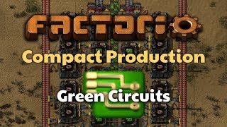 Factorio Compact Green Circuit Production
