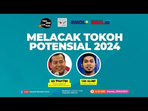 Tanya Jawab Cak Ulung • Melacak Tokoh Potensial 2024