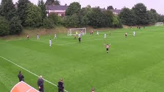 Alex Brown Highlights Left Back - Sheffield FC & England C