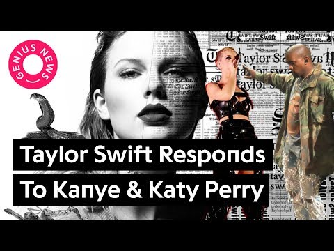 """Breaking Down Taylor Swift's """"Look What You Made Me Do"""" Disses To Kanye & Katy Perry"""