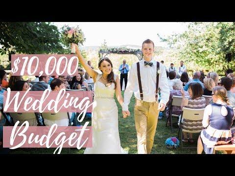 OUR $10,000 DREAM WEDDING BUDGET