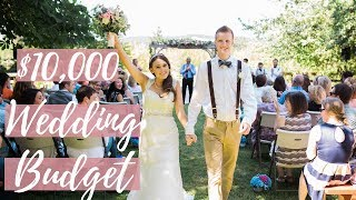 OUR $10,000 DREAM WEDDING BUDGET
