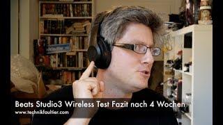 Beats Studio3 Wireless Test Fazit nach 4 Wochen