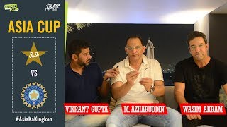 Wasim Akram and Mohammad Azharuddin dissect India's thumping win over Pakistan in Asia Cup